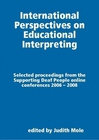 Paperback cover for International Perspectives on Educational Interpreting