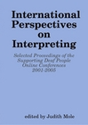 Paperback cover for International Perspectives on Interpreting
