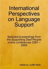 Paperback cover for International Perspectives on Language Support