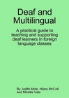 Paperback cover for Deaf and Multilingual